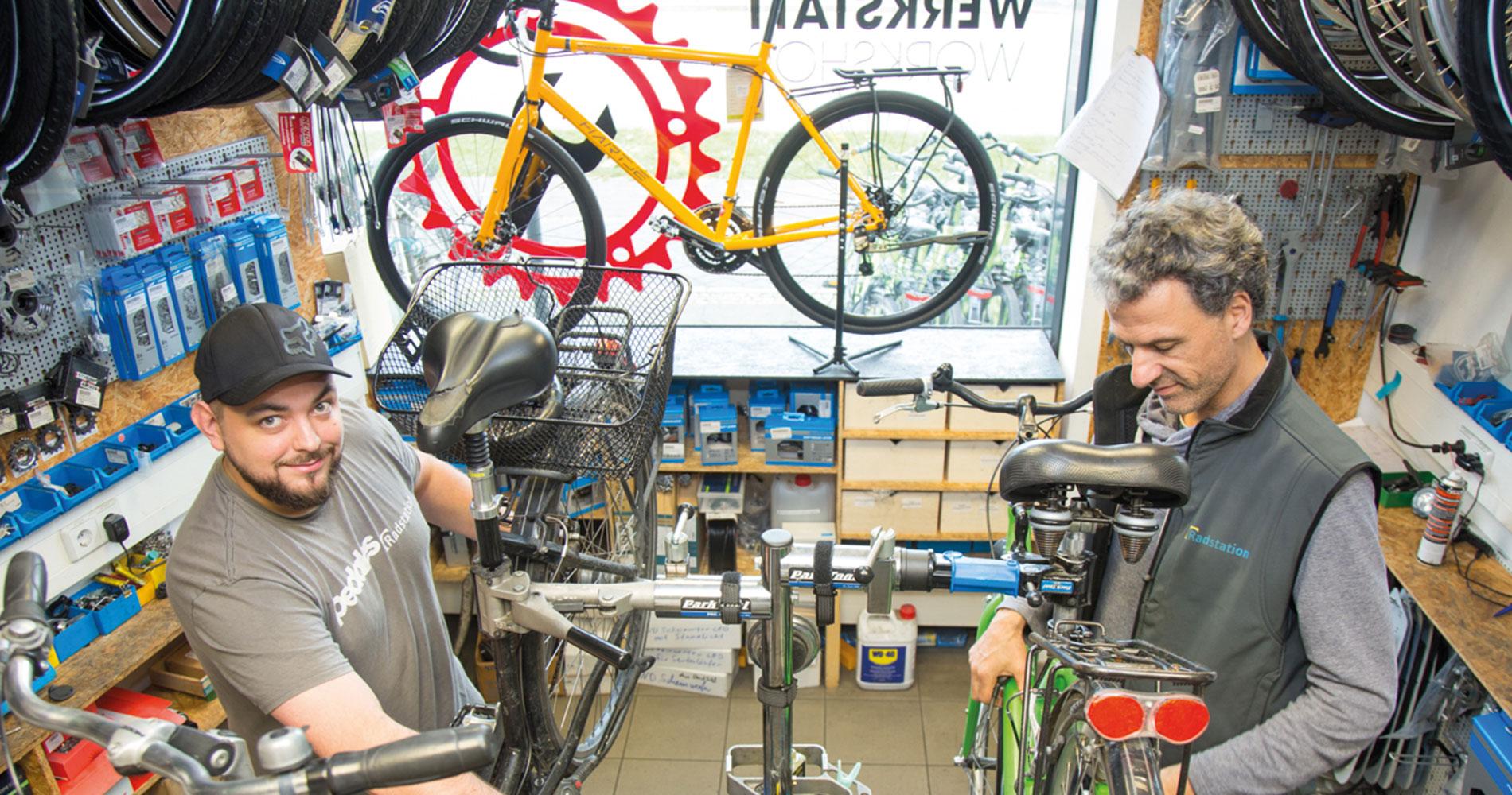 Fahrrad, Werkstatt, Laden, Reparatur Potsdam Hauptbahnhof