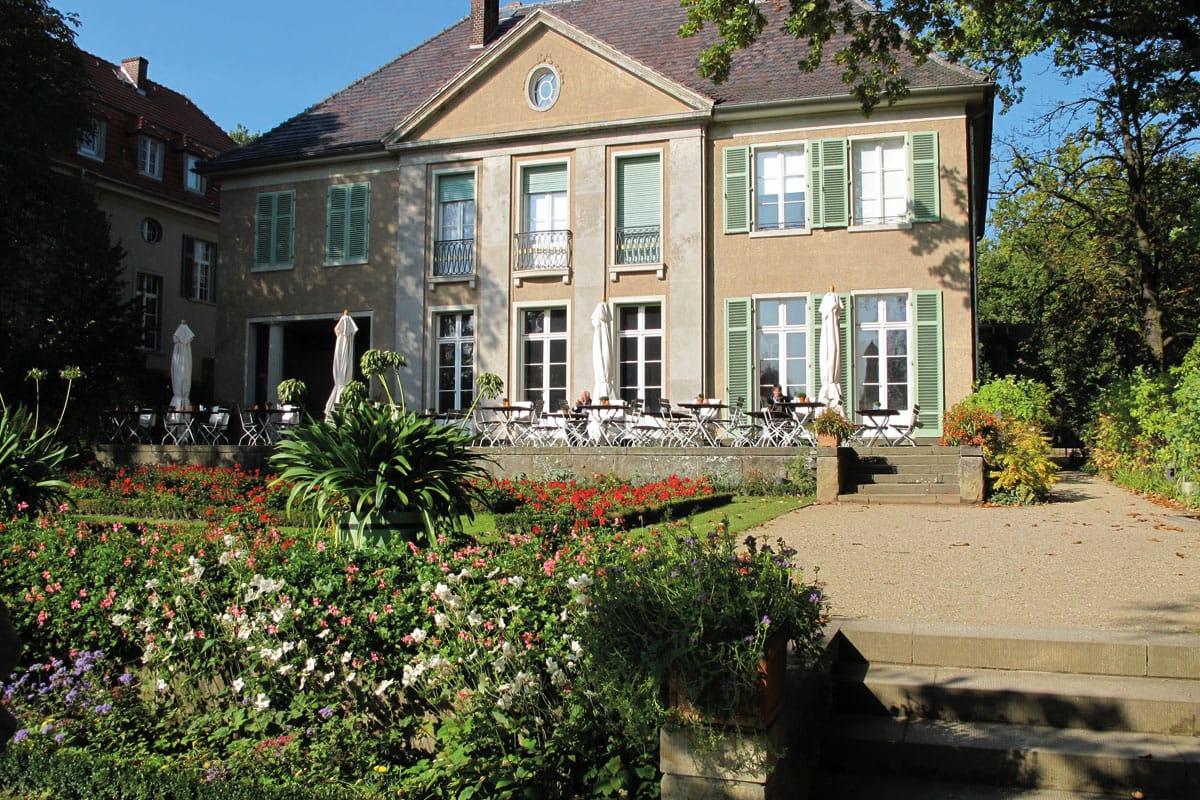 Radtour Wannsee, Potsdam, Griebnitzsee, Fahrradverleih, Liebermann Villa