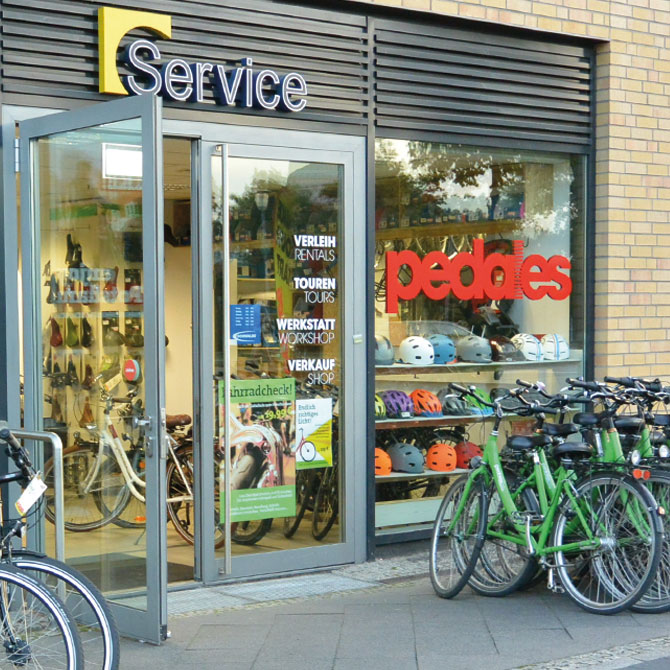 Fahrradverleih Potsdam