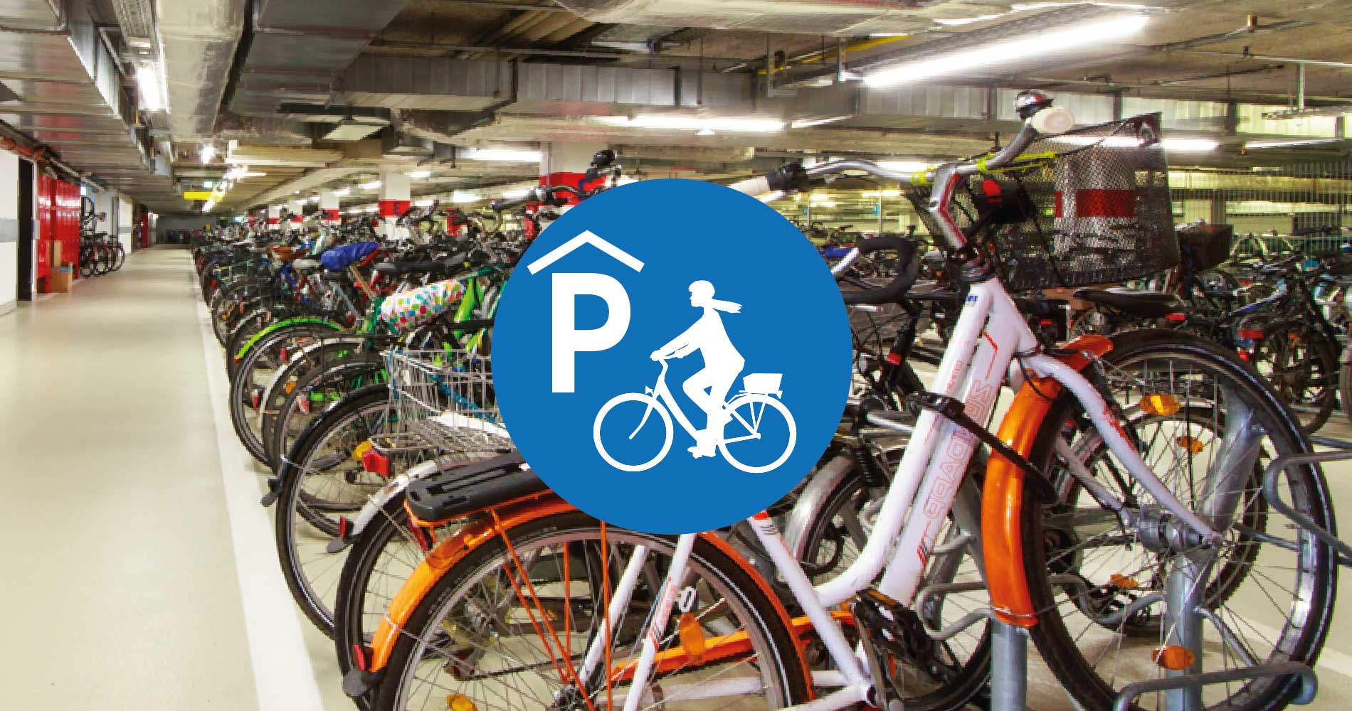 Fahrrad Parkhaus Radstation Potsdam Hauptbahnhof