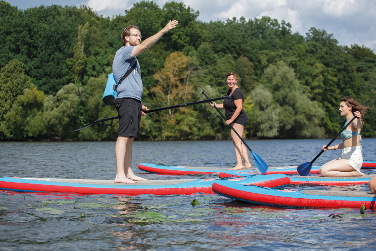 SUP-Stories Griebnitzsee