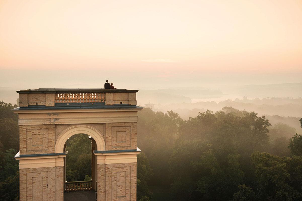 Aussicht Vom Pfingsberg Auf Potsdam