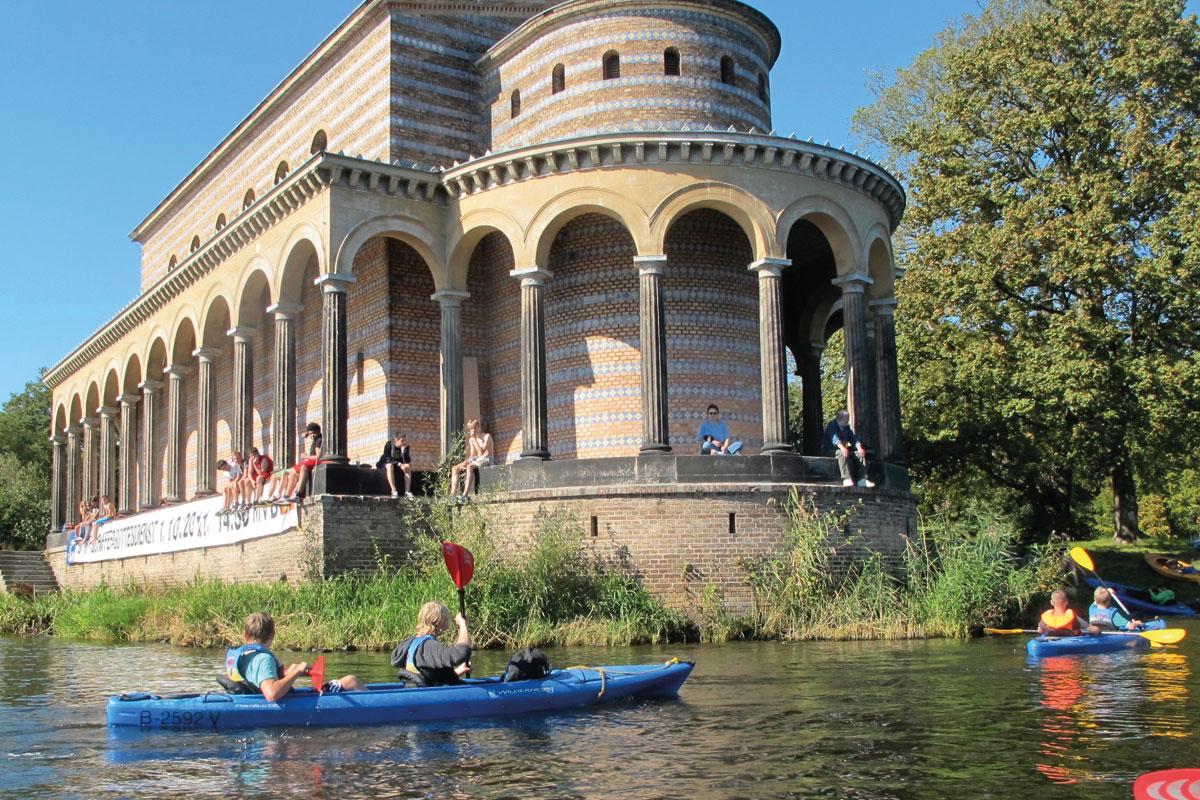 Kajaktour Potsdam Berlin Wannsee